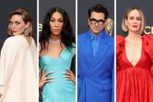 Le tapis rouge des Emmys 2021 était particulièrement coloré
