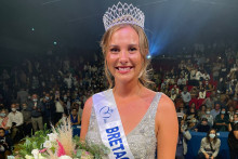 Sarah Conan élue Miss Bretagne, dimanche 19 septembre 2021.