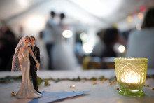 Lors d'un mariage (illustration)