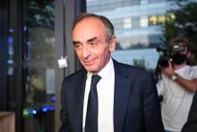 Éric Zemmour le 23 septembre 2021
