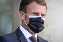 Emmanuel Macron à l'Élysée le 24 septembre 2021