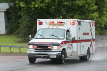 Une ambulance américaine (illustration)