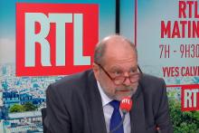 Éric Dupond-Moretti au micro de RTL le lundi 27 septembre.