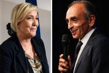 Marine Le Pen et Eric Zemmour
