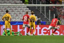 Le Barça a coulé à Benfica le 30 septembre 21021 (3-0)