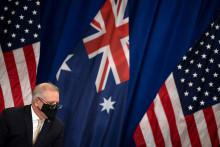 Le Premier ministre australien, Scott Morrison, le 21 septembre 2021