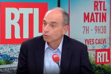 Jean-François Copé au micro de RTL.