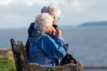 Un couple de personnes âgées (image d'illustration)