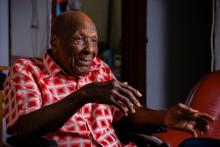 Jules Théobald, un Martiniquais de 112 ans qui était l'homme le plus âgé de France, est décédé mardi 5 octobre