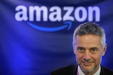 Frédéric Duval, le directeur général d'Amazon France