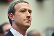 Mark Zuckerberg, PDG de Facebook, le 23 octobre 2019, devant le Congrès