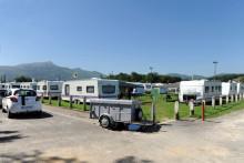 Un camp de gens du voyage à Saint-Jean-de-Luz (illustration)