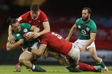 Un match du Tournoi des VI Nations entre l'Irlande et le Pays de Galles à Cardiff le 7 février 2021