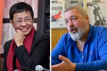 Maria Ressa et Dmitri Muratov, prix Nobel de la Paix 2021
