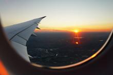 Une vue d'un avion (illustration)