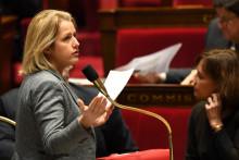 Barbara Pompili, la ministre de la Transition écologique, à l'Assemblée nationale