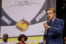 Emmanuel Macron à Montpellier le 8 octobre 2021