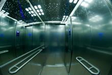 Une cabine d'ascenseur (illustration)