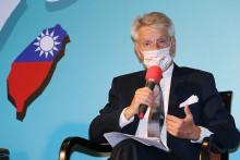 Le sénateur Alain Richard à Taipei le 8 octobre 2021
