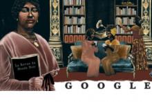 Le doodle du 12 octobre 2021 rend hommage à Paulette Nardal, militante de la cause noire