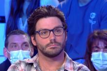 Gaëtan Matis sur le plateau de l'émission Touche pas à mon Post sur C8