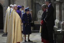 Elizabeth II, le 12 octobre 2021