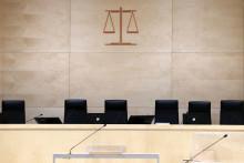 Une salle d'audience d'un tribunal (illustration)
