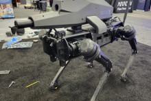 Le système autonome létal SPUR développé par Ghost Robotics et SWORD International