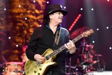 Carlos Santana le 25 janvier 2020