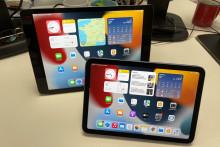 Apple a lancé deux nouveaux iPad en fin d'année 2021