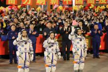 Les trois spationautes chinois ont décollé à bord Shenzhou-13, le samedi 16 octobre