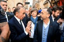 Robert Ménard et Éric Zemmour ce samedi à Béziers