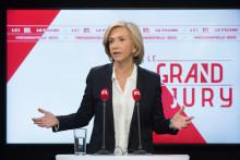 Valérie Pécresse le 17 octobre 2021 au Grand Jury RTL/LCI/Le Figaro