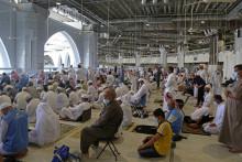 La Grande Mosquée de La Mecque ce dimanche a accueilli les fidèles au maximum de sa capacité