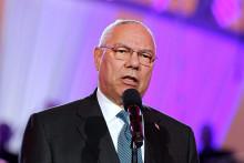 Colin Powell, ancien secrétaire d'État américain