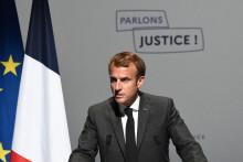 Emmanuel Macron aux Etats Généraux de la justice lundi 18 octobre.