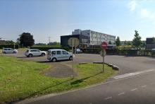 Le collège Alice Mosnier à à Fortschwihr dans le Haut-Rhin