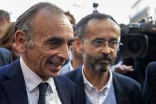 Éric Zemmour et Robert Ménard à Béziers le 16 octobre 2021