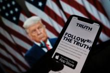 """Illustration de """"Truth social"""""""