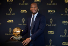 Didier Drogba lors de la cérémonie de remise du 64e Ballon d'Or le 19 septembre 2019 à Paris