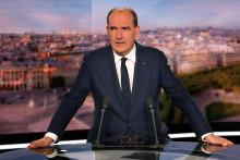 Jean Castex invité du journal de 20h de TF1 le 21 octobre 2021