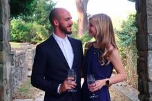 Brian Laundrie en compagnie de sa petite amie Gabby Petito en juillet 2020
