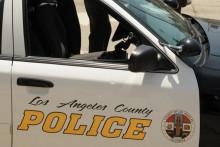La voiture du shérif de Los Angeles