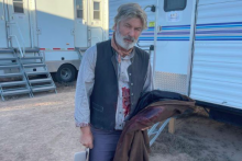 """Alec Baldwin sur le tournage de """"Rust"""""""