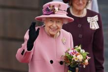 Elizabeth II, le 14 octobre 2021