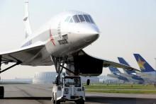 Un Concorde MSN1 pris en photo en 2014 à Blagnac en France