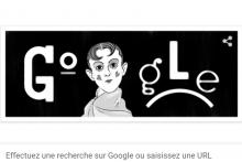 Capture d'écran du doodle Google du 25 octobre 2021