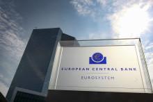 Les bureaux de la Banque Centrale Européenne à Francfort, Allemagne.