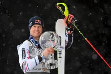 Alexis Pinturault à Lenzerheide (Suisse) le 21 mars 2021