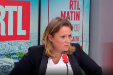 Olivia Grégoire le 27 octobre 2021 sur RTL